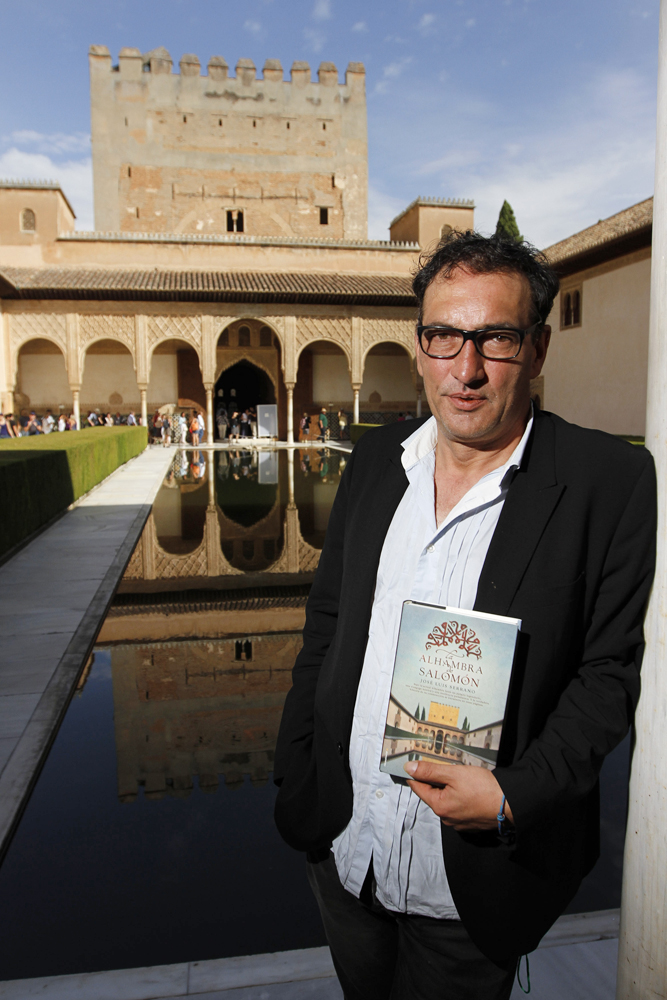 "The writer José Luis Serrano presents ""La Alhambra de Salomón"""