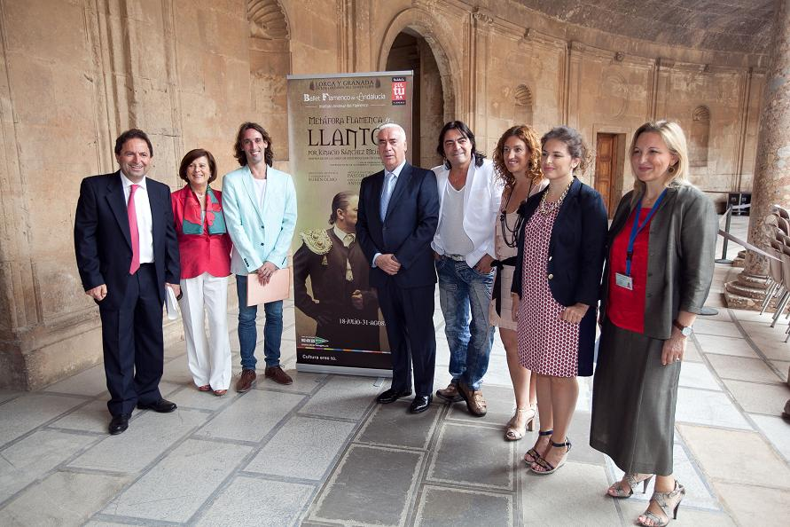 Ministry for Culture to bring Flamenco Ballet of Andalusia to Lorca and Granada in the Generalife Gardens programme