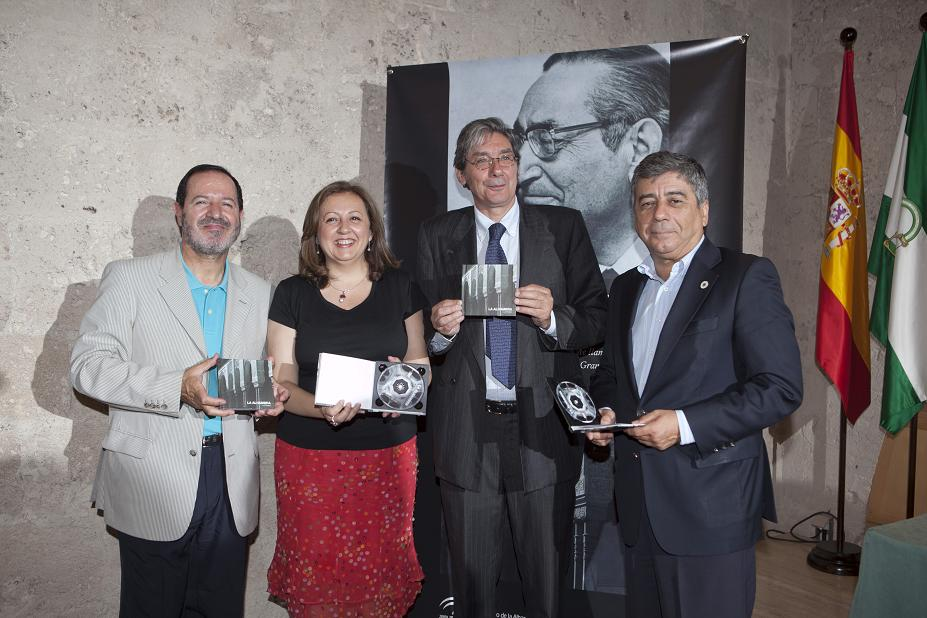The Alhambra issues DVD written and read by Luis Rosales