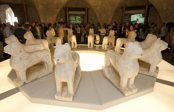 About 130,000 visitors have seen already the exhibition of the lions of the Alhambra