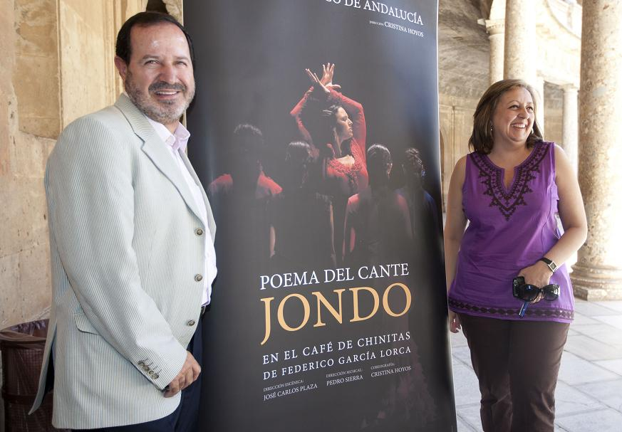 The season of 'Lorca and Granada' returns to the Generalife with the performance of Poema del cante jondo