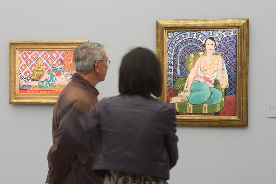 Matisse and the Alhambra in the spotlight at the CaixaForum and the Palace of Charles V