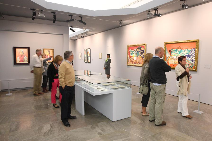 More than 80,000 visitors came to the Exhibition Matisse and the Alhambra (1910-2010)
