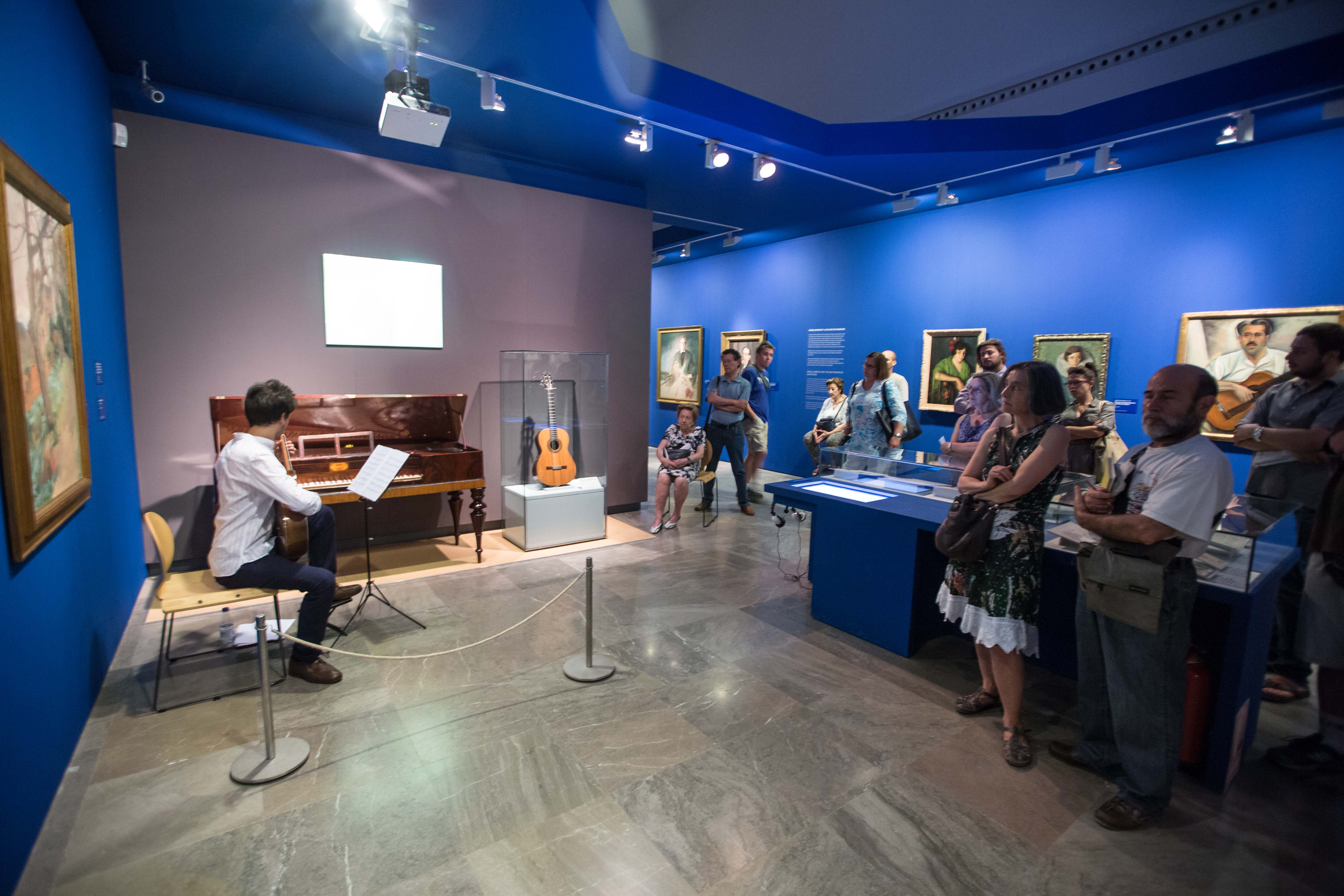 30,000 people have visited the exhibition 'Ángel Barrios, Creativity in the Alhambra'