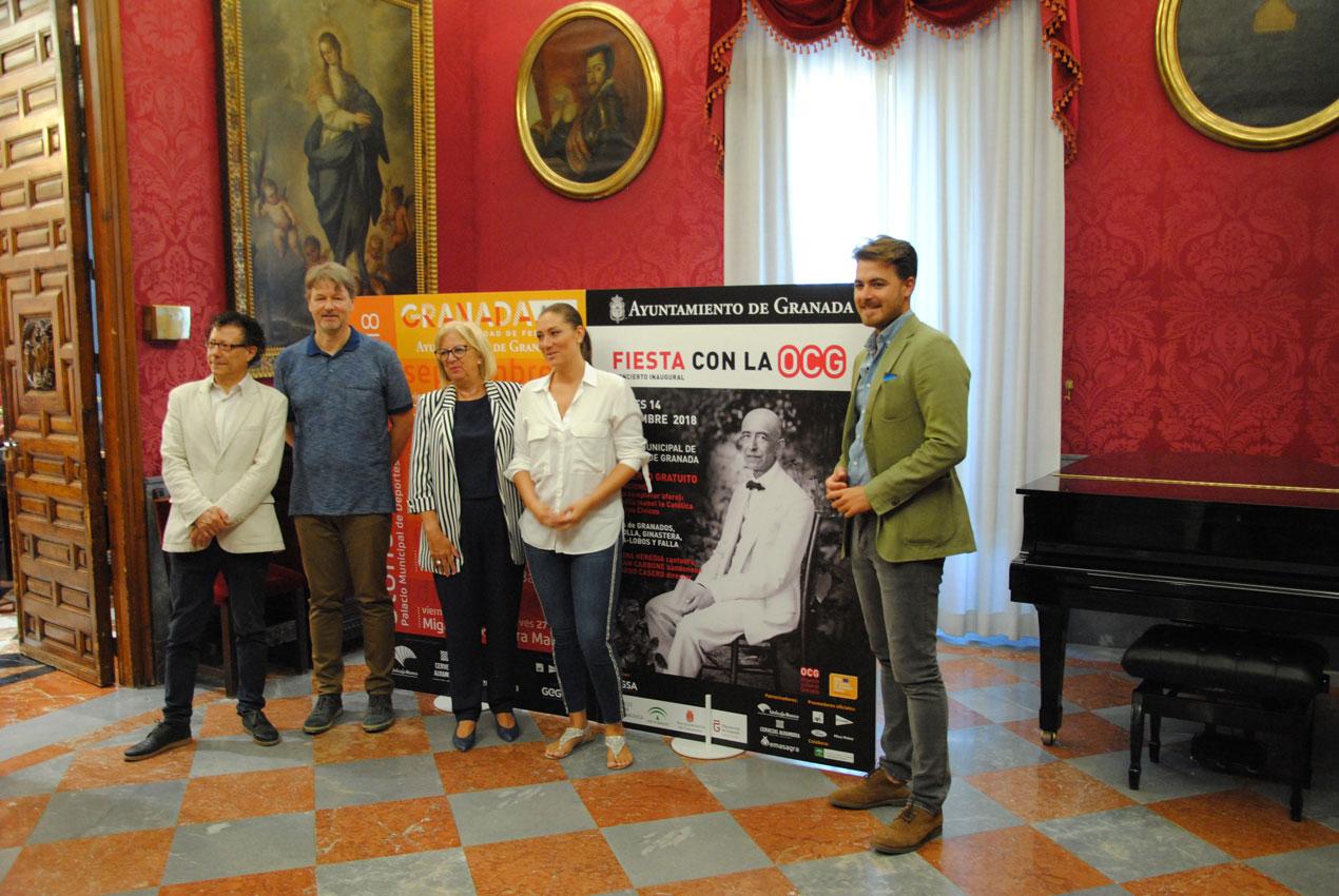 El Pabellón de Deportes acoge este viernes el concierto gratuito de la OCG con Marina Heredia y Fabián Carbone como invitados