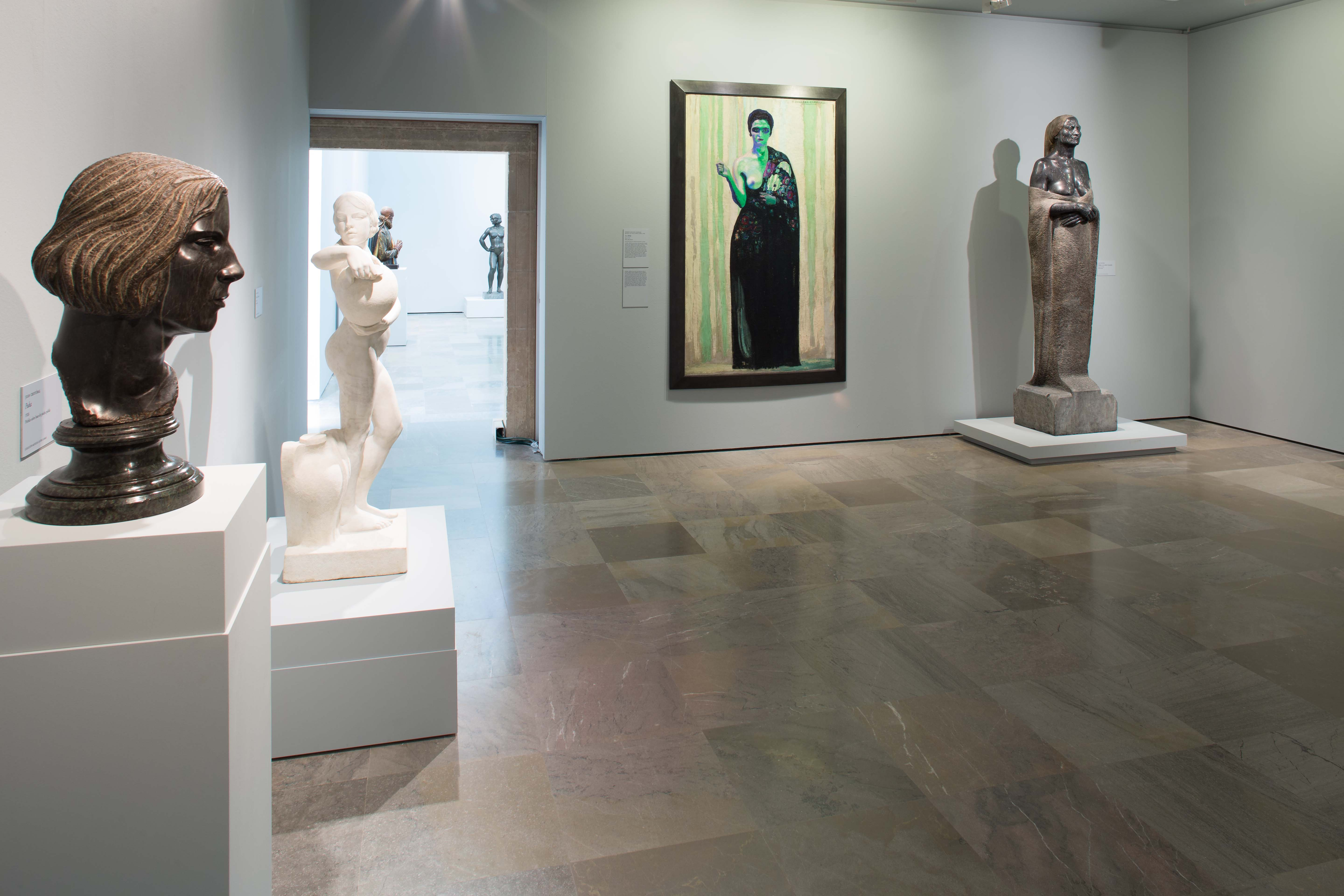 The Alhambra is organizing free guided visits to the exhibition about the sculptor Juan Cristóbal