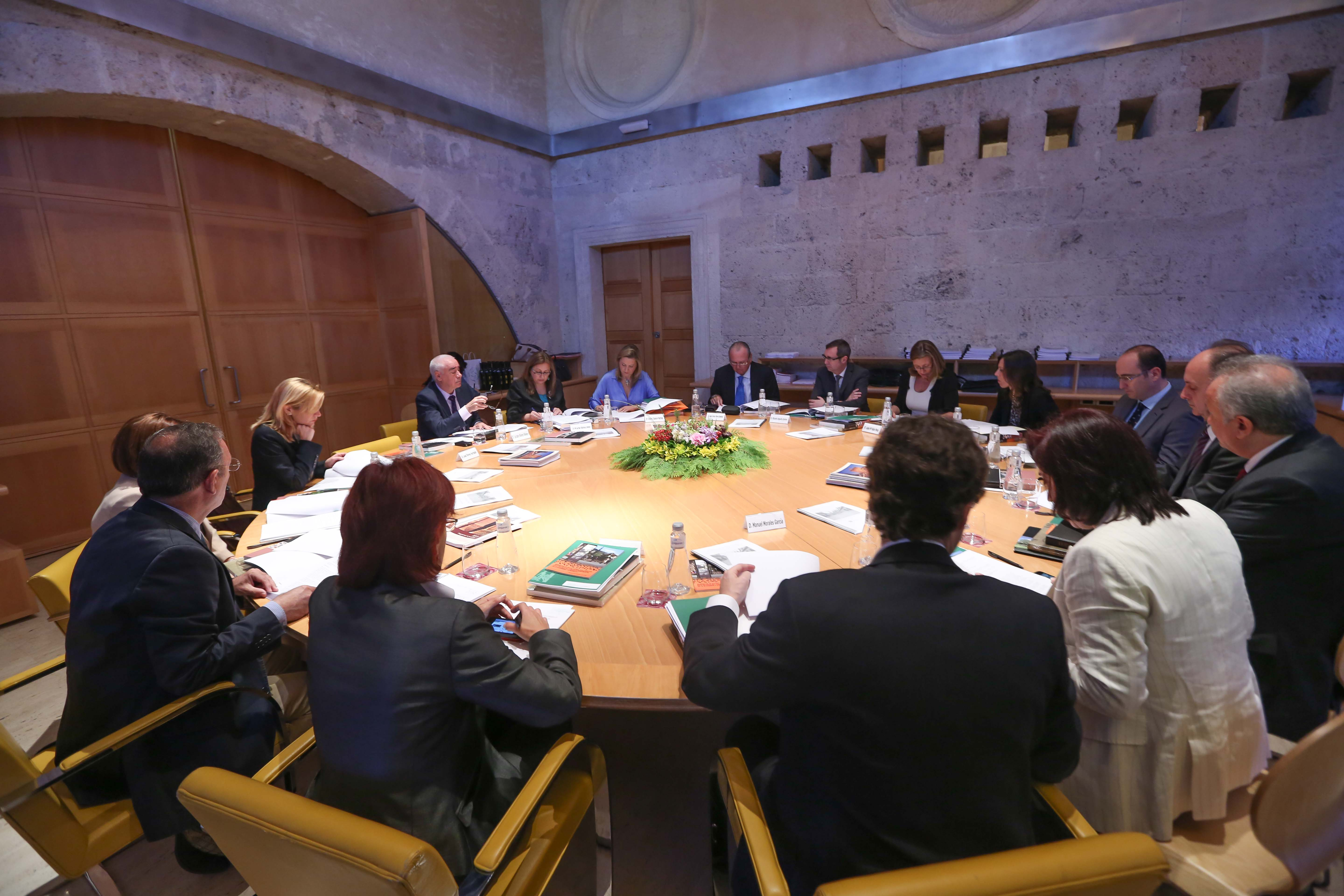 The Alhambra increases its budget for 2014 and leads various European projects