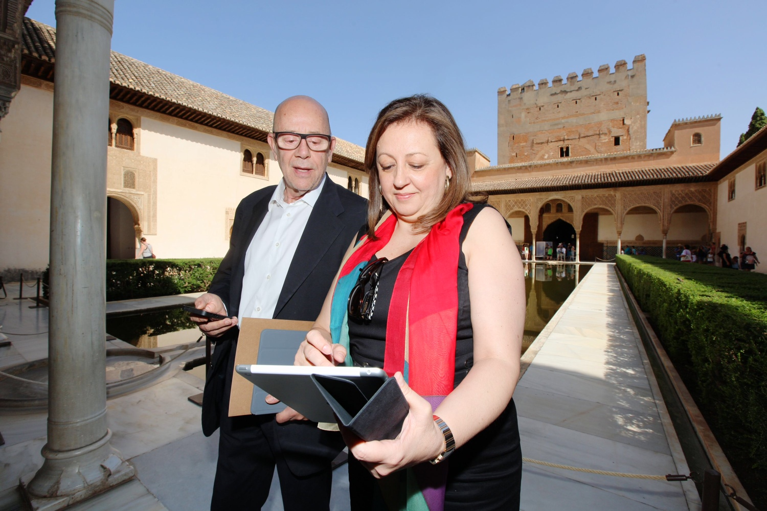 The app version of the Official Guide to the Alhambra