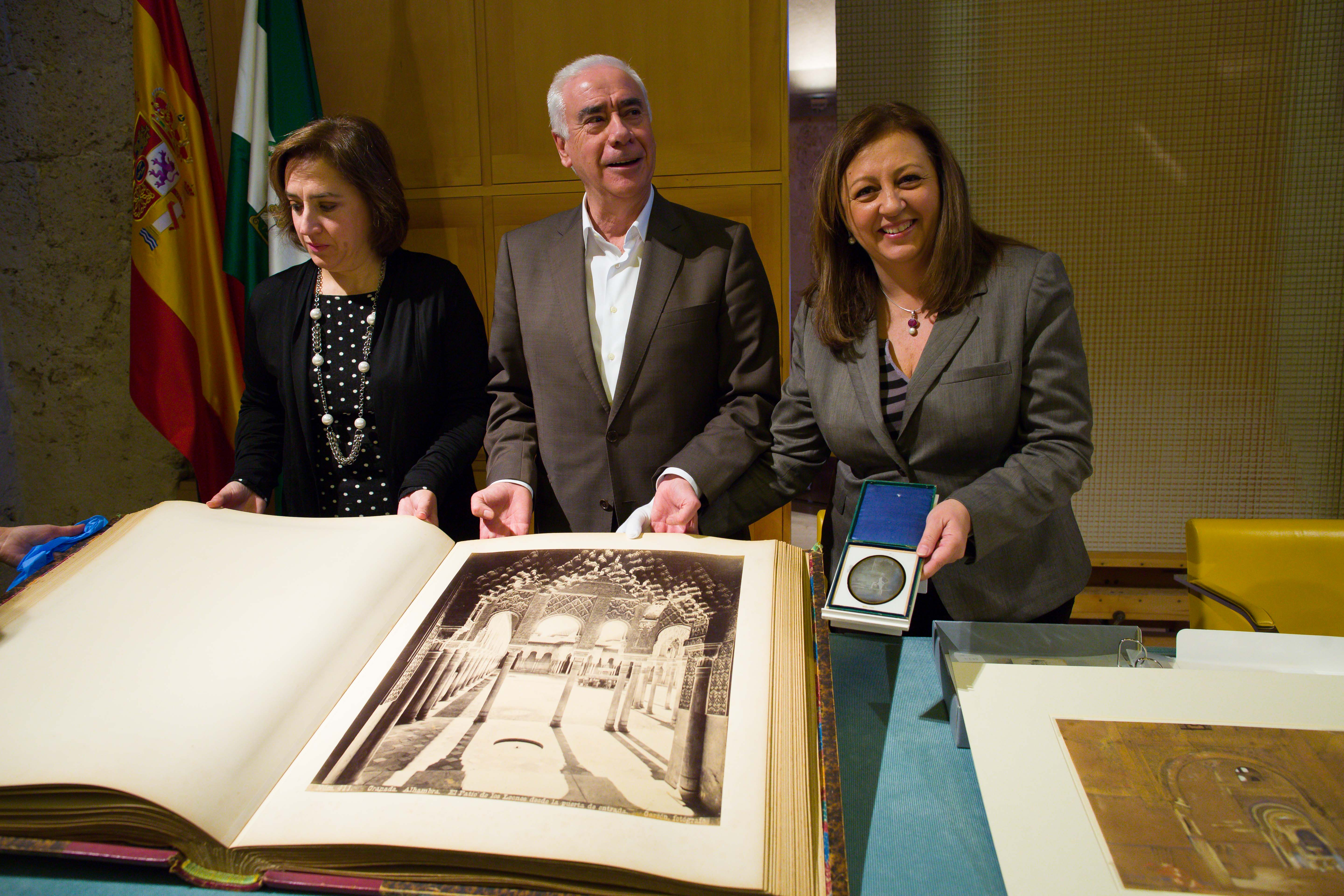 The Alhambra has enhanced its art collection with around twenty pieces valued at 250,300 euros