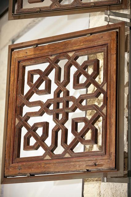 The Moorish lattice work of the Comares baths
