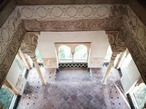 Interior del Peinador de la Reina. Planta baja.