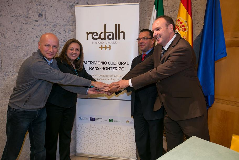 The Alhambra is protecting the Redalh European Project for innovation in heritage tradition
