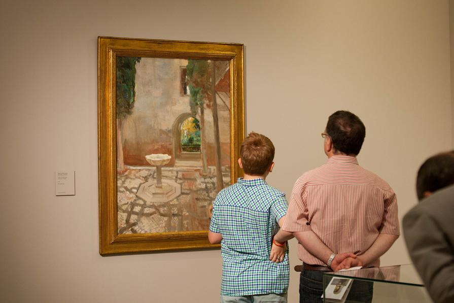 Almost 87,000 people have visited the exhibition Sorolla, Gardens of Light organized by the Patronato de la Alhambra
