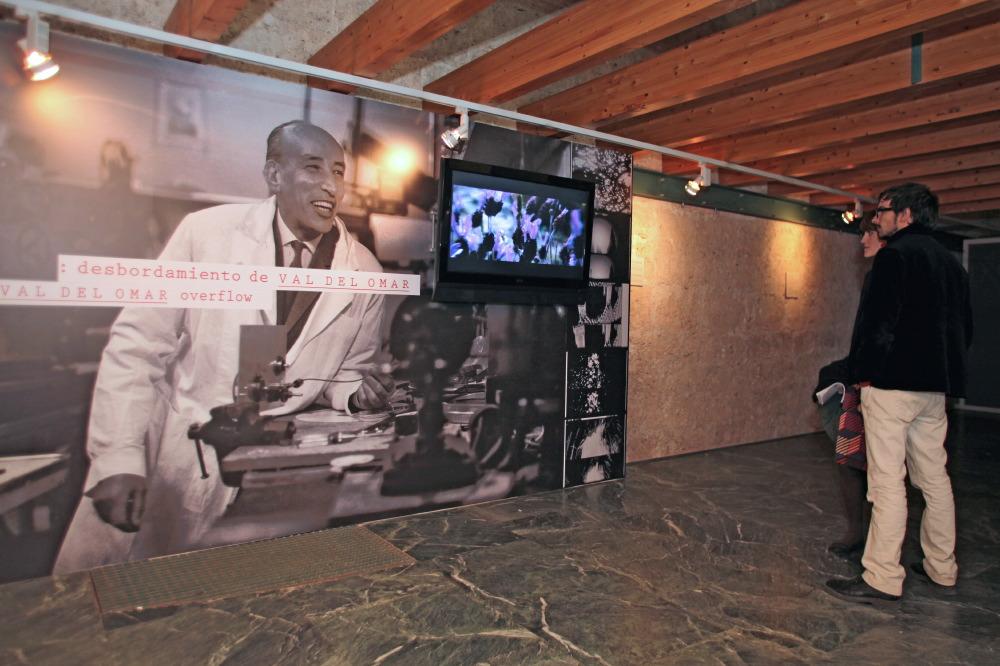 """The Patronato de la Alhambra y Generalife and Centro José Guerrero are organizing the exhibition Desbordamiento de Val del Omar (""""Val del Omar Overflow"""")"""