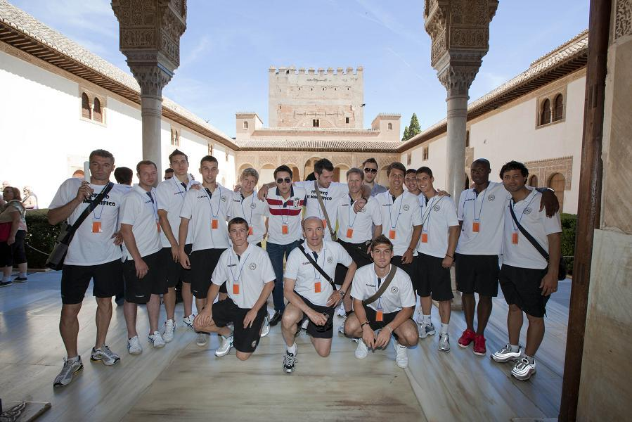Udinese Calcio visits the Alhambra