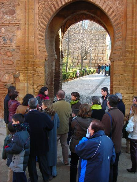 The Monumental Complex of the Alhambra is the most visited Spanish monument with almost three million visitors in 2009