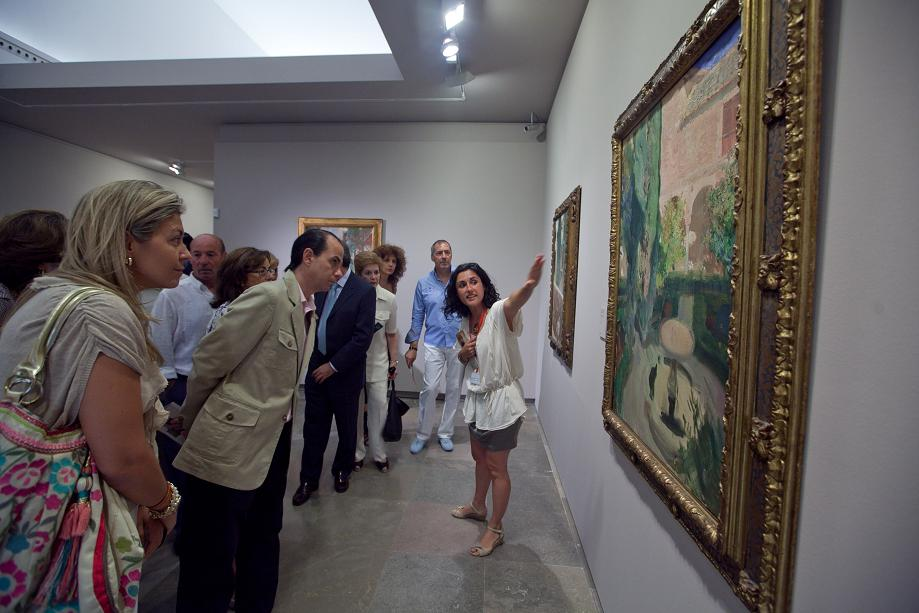 Free guided visits to the exhibition Sorolla. Gardens of Light