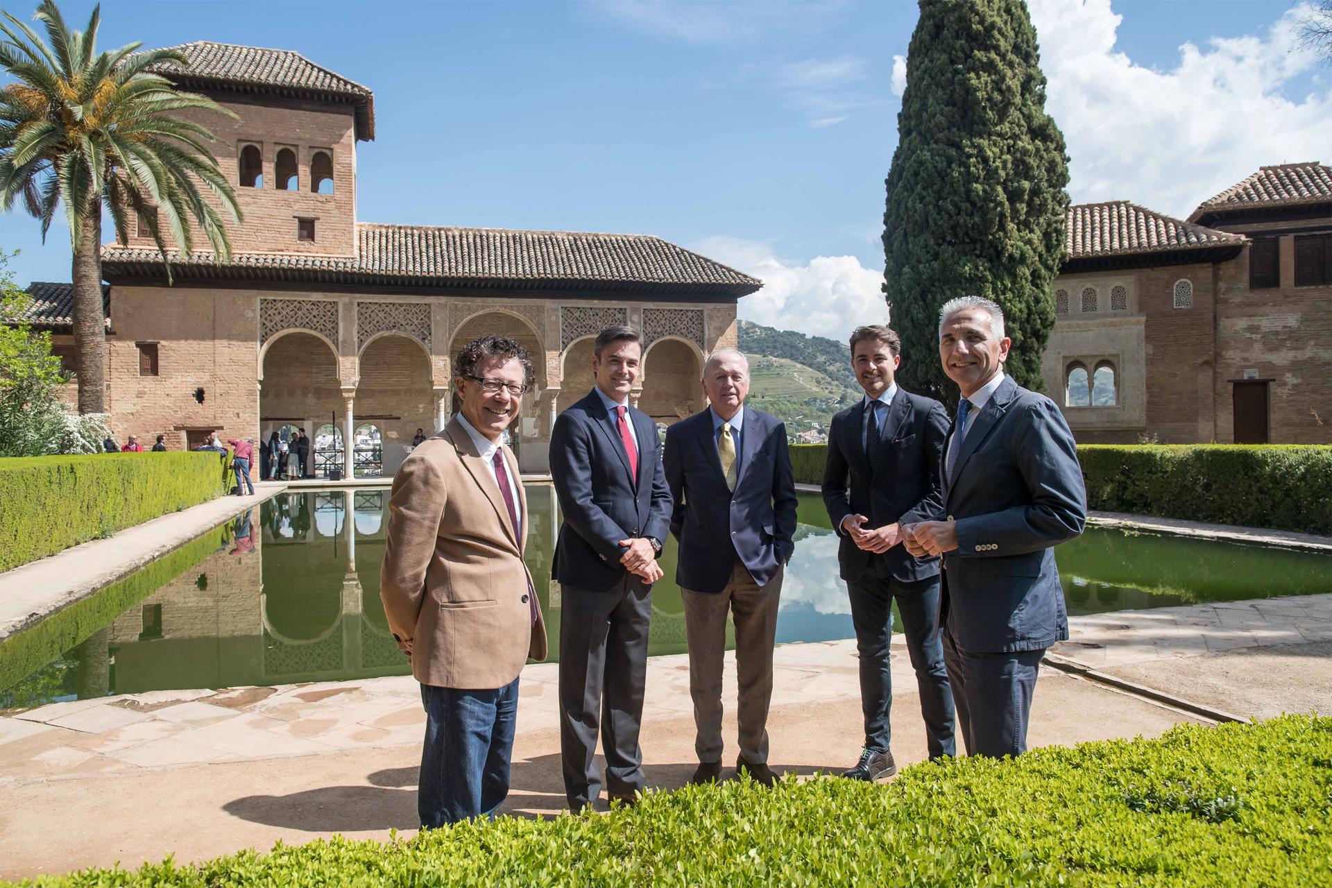 La Alhambra y World Monuments Fund invertirán más de 250.000€ para restaurar espacios del Monumento