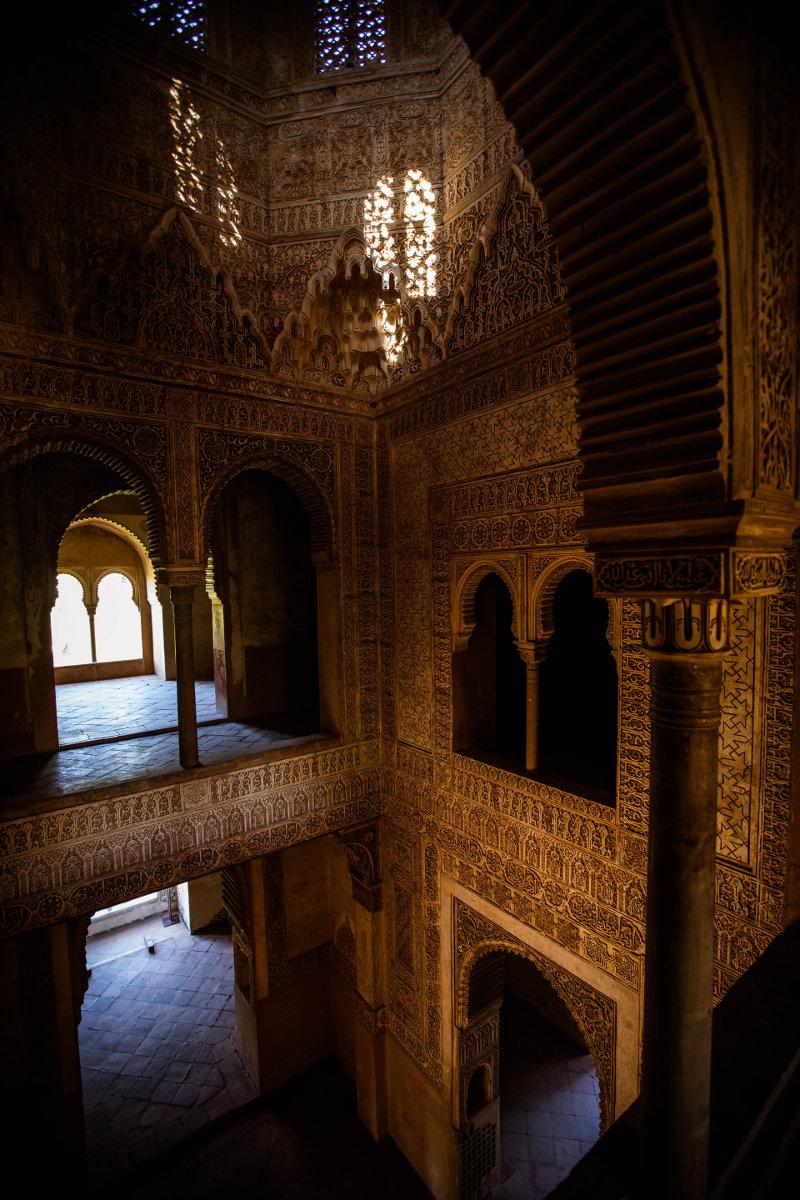 La legendaria Torre de las Infantas de la Alhambra, abierta al público durante el mes de octubre