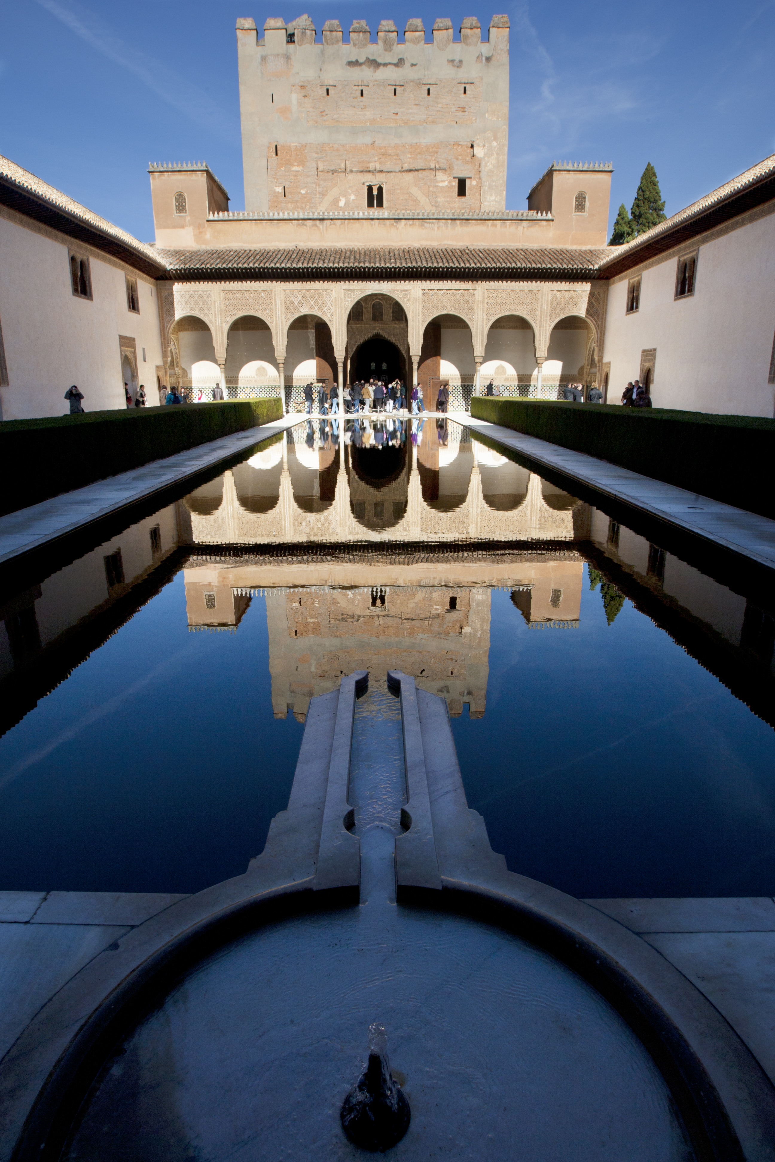 The Alhambra, favourite tourist destination for Internet users
