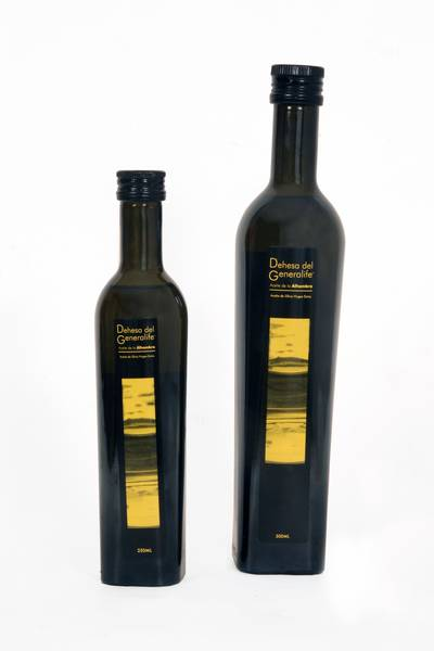"""The Council of the Alhambra y Generalife launches its new """"Dehesa del GeneralifeTM"""" Extra Virgin Olive Oil with certified organic quality."""