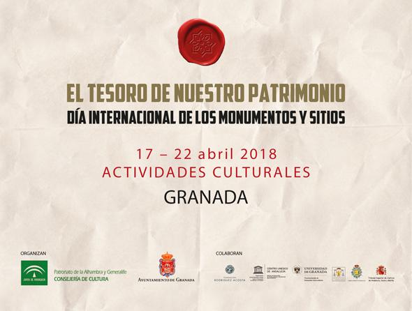 EL TESORO DE NUESTRO PATRIMONIO. Día Internacional de los Monumentos y Sitios 2018