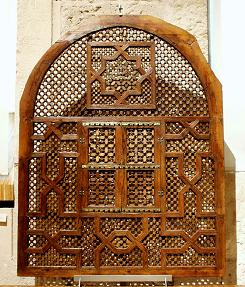 Latticework of the Hall of the two Sisters