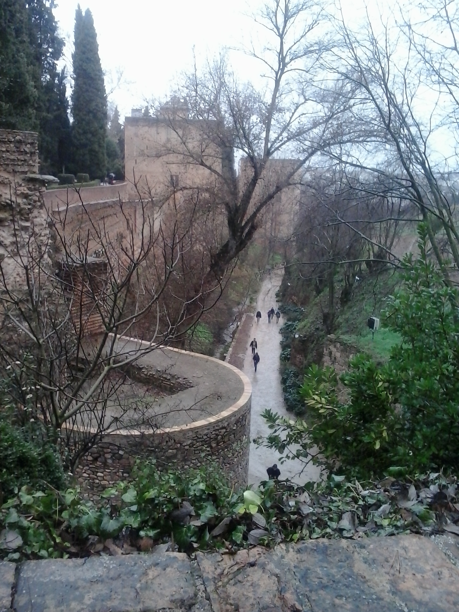 Institutional commitment to restore the mediaeval path known as Cuesta de los Chinos