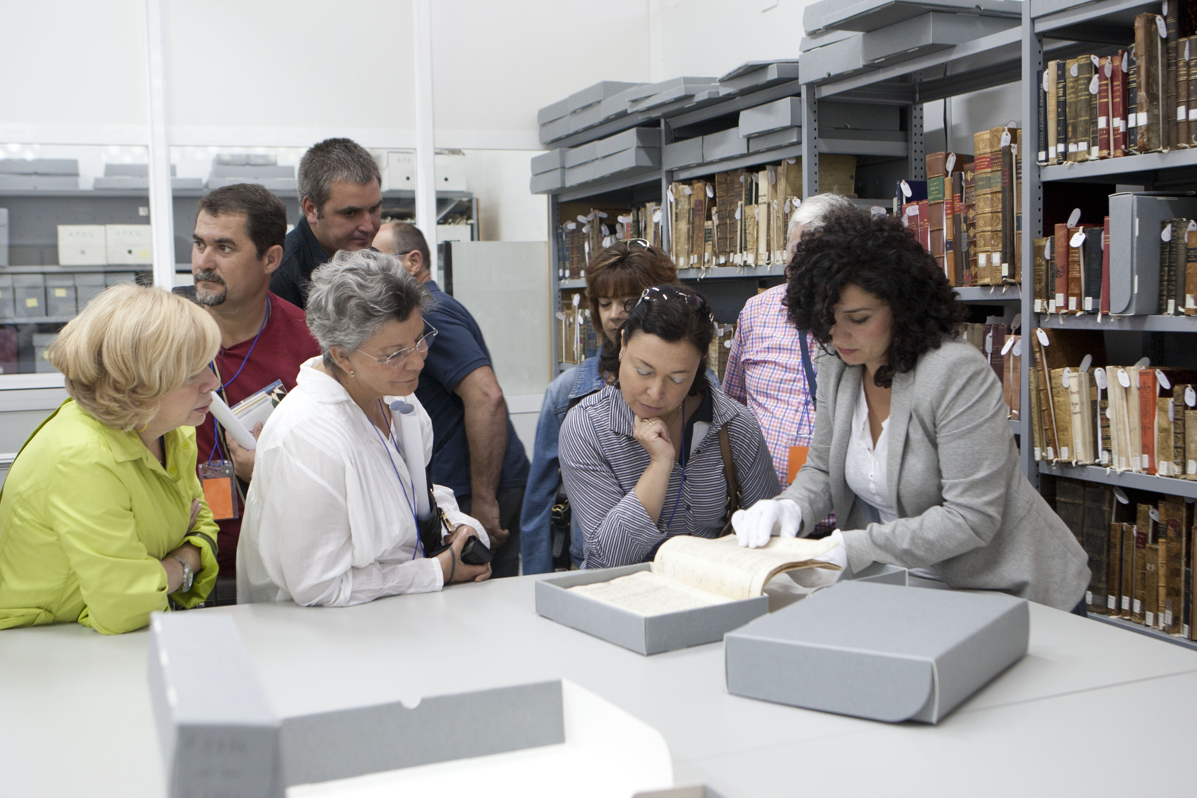 The Alhambra organizes free guided visits on the occa-sion of International Archives Day
