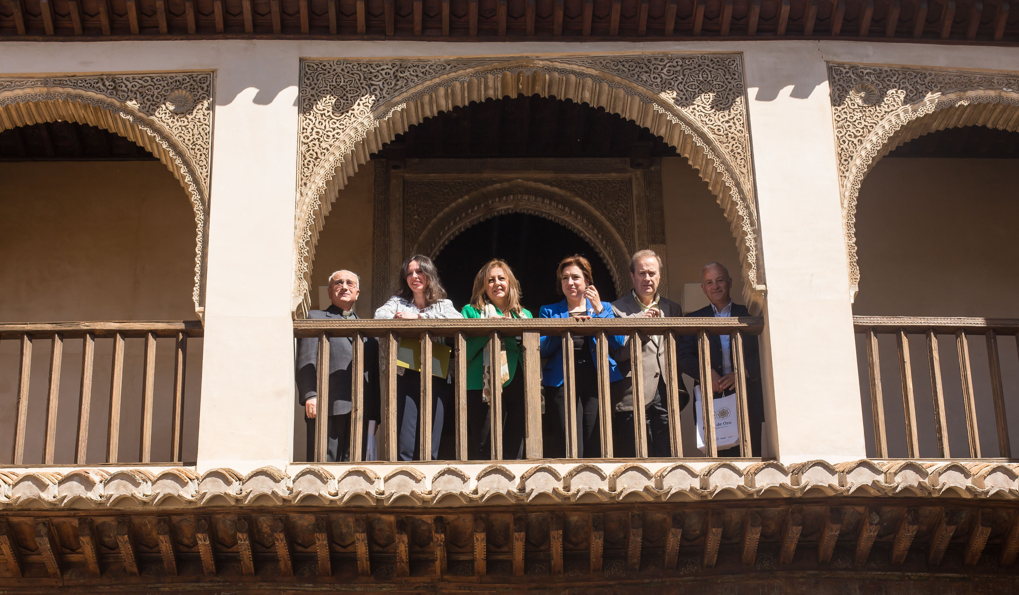 With the Launching of the Dobla de oro teh Alhambra looks towards The Albaicín and Granada