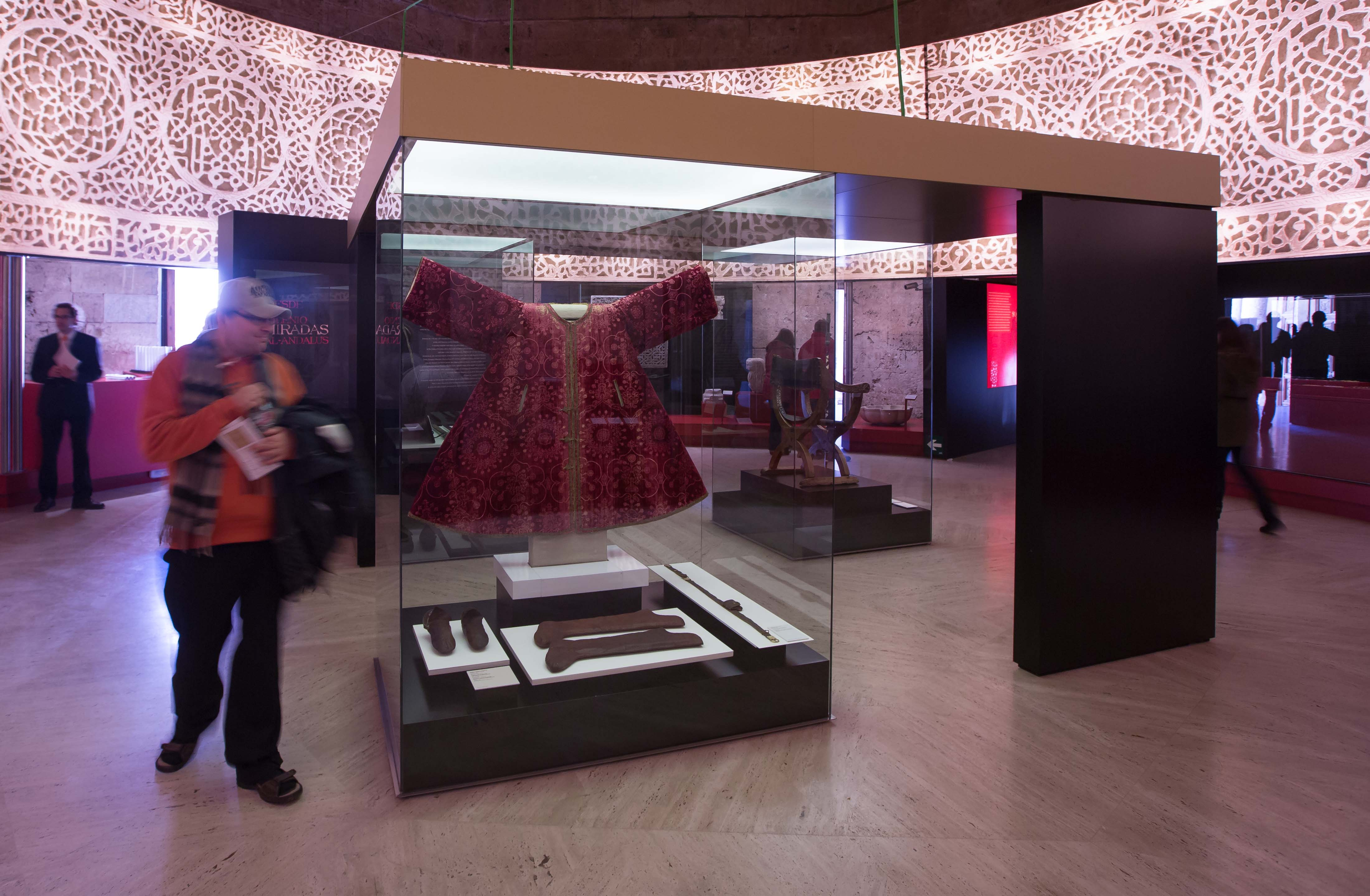 """More than 10,000 people have visited the exhibition """"Art and Cultures of al-Andalus. The power of the Alhambra"""""""