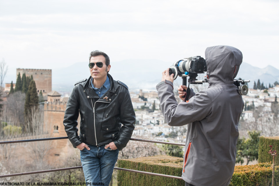 """The Alhambra and the Rodríguez-Acosta Foundation used as sets for the filming of the documentary """"Granada es posible"""""""