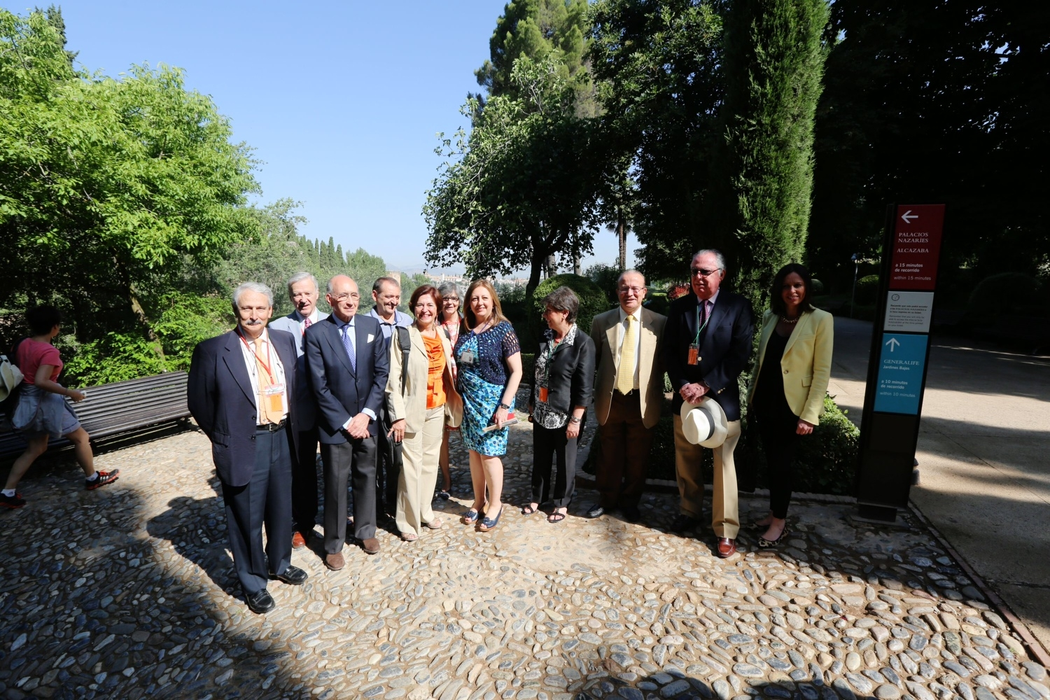The Alhambra receives the Hispania Nostra Prize for its new signposting system.