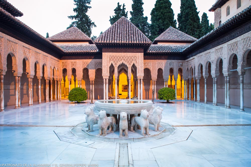 The Alhambra, Number 1 in the list of Spain's top 10 unmissable monuments