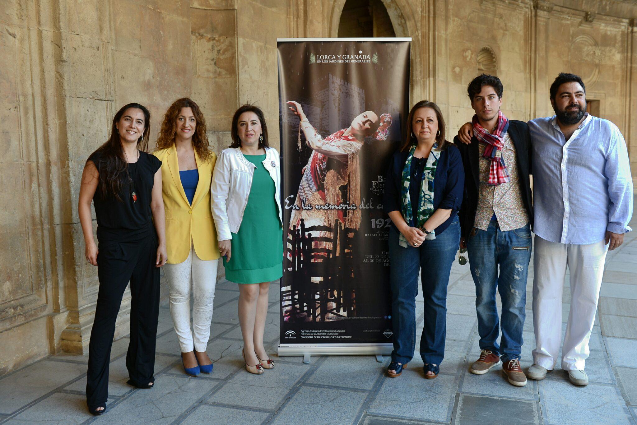 José Enrique Morente joins the Ballet Flamenco de Andalucía dance company for this summer's Lorca and Granada cycle