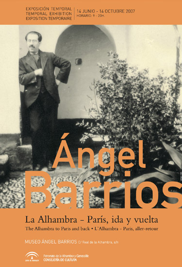 Angel Barrios. The Alhambra-Paris roundtrip