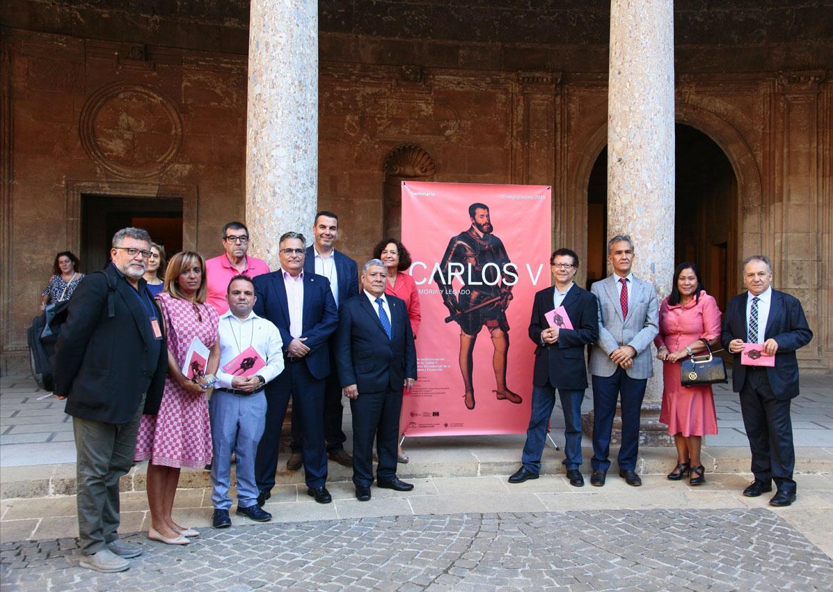 La figura del Emperador Carlos V y su proyección en  Hispanoamérica, a debate en la Alhambra