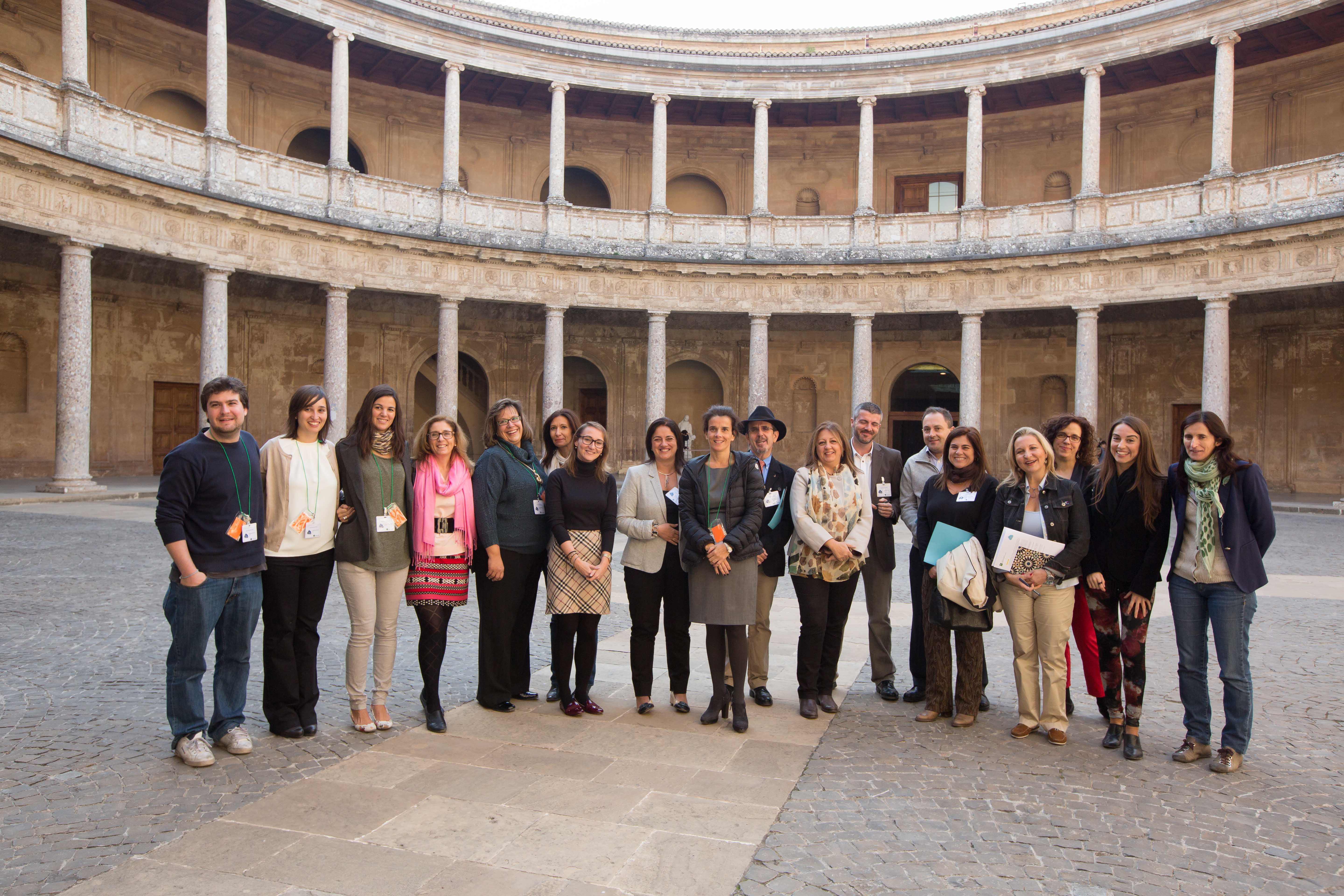 The Alhambra hosts a meeting of experts to debate the use of cloud-based technological applications in cultural environments