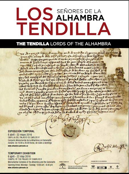 The Alhambra and the Tendillas, reasons for an exhibition
