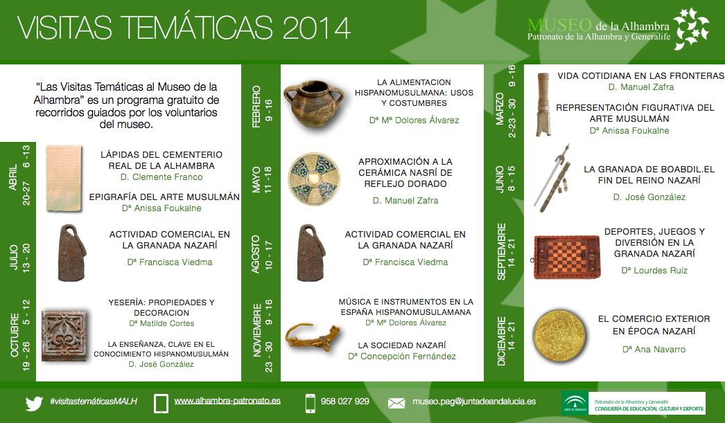 visitas tematicas 2014
