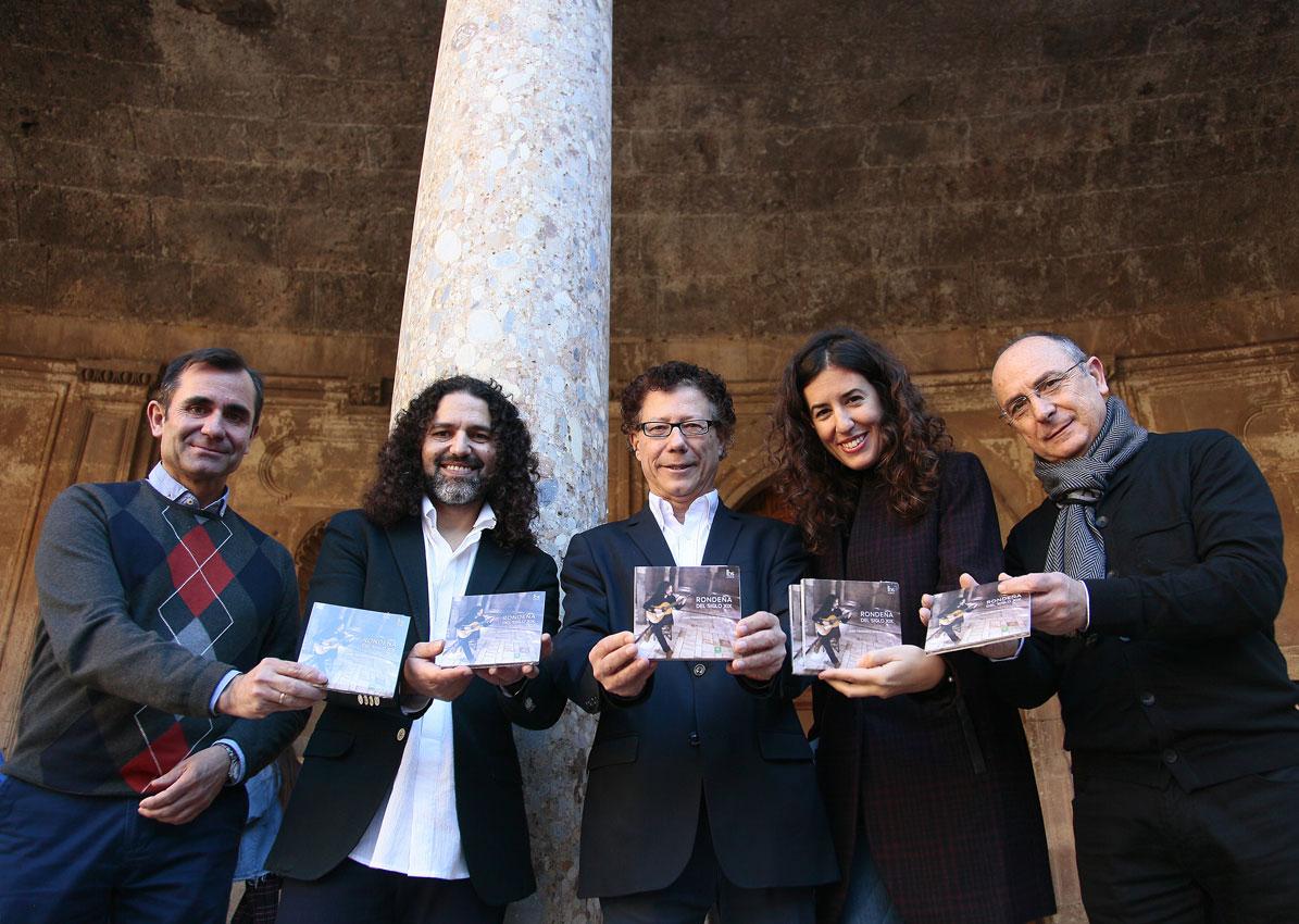 """La Alhambra edita el álbum """"Rondeña del siglo XXI"""" para recupera parte del patrimonio musical granadino"""