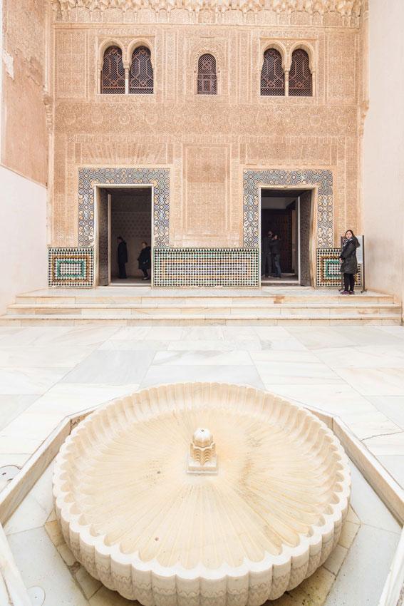 La Alhambra abre al público el Vestíbulo del Alcázar, dentro de los Palacios Nazaríes