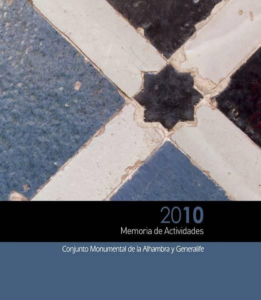 Memoria de actividades: 2010