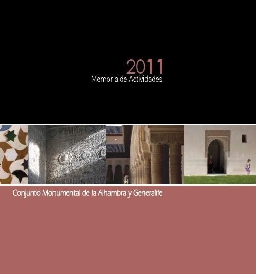 Memoria de actividades: 2011