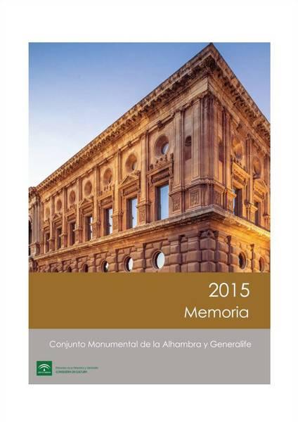 Memoria de actividades: 2015