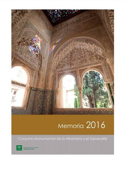 Memoria de actividades: 2016