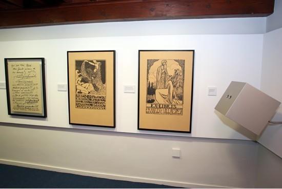 Elementos del Museo de Ángel Barrios