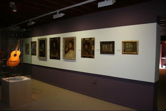 Mobiliario del Museo de Ángel Barrios