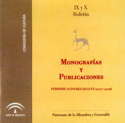 Boletín de monografías y publicaciones periódicas 2007/2008