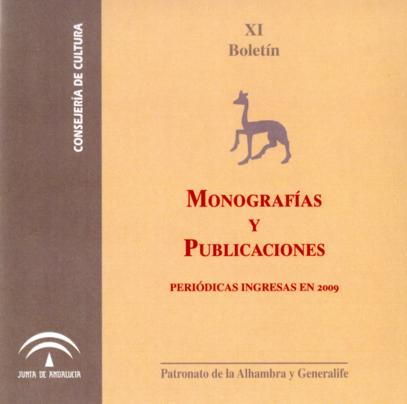 Boletín de monografías y publicaciones periódicas 2009